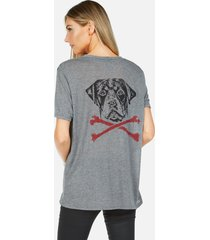 capri rott bones - xl heather grey
