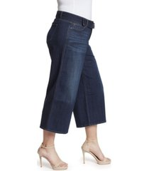skinnygirl women's plus barry wide leg jean