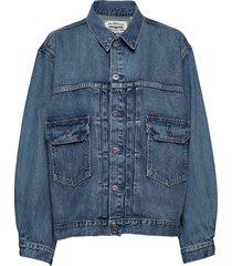 lmc love letter trucker lmc ba jeansjack denimjack blauw levi's made & crafted