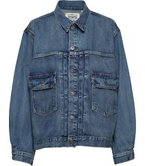 lmc love letter trucker lmc ba jeansjack denimjack blauw levi's made & crafted