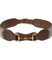 gucci logo motif detail belt