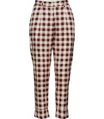 narethe pantalon met rechte pijpen rood baum und pferdgarten