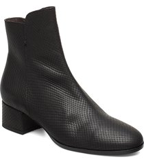 booties 95500 shoes boots ankle boots ankle boots with heel svart carla f
