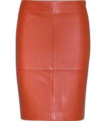 2nd cecilia kort kjol orange 2ndday