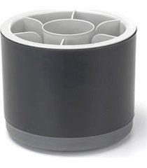 porta talheres em plástico by arthi off white e preto