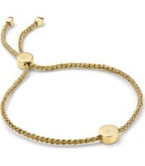 women's monica vinader linear solo diamond friendship bracelet