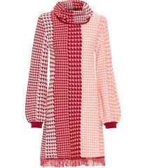 abito in maglia con frange (rosa) - bodyflirt boutique