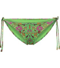 printed string bottom bikinitrosa grön tory burch