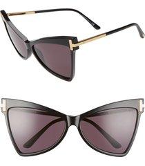 women's tom ford tallulah 61mm cat eye sunglasses -