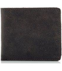 cienki portfel vintage męski brązowy kaletnika