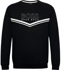 authentic sweatshirt sweat-shirt tröja svart boss