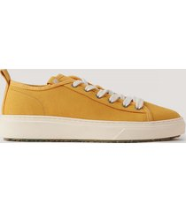 zouri shoes klassiska sneakers - yellow