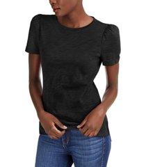 inc slub puff-sleeve t-shirt, created for macy's