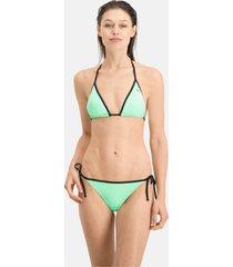 puma swim side-tie bikinibroekje voor dames/aucun, maat xl