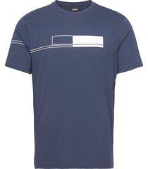 tee 1 t-shirts short-sleeved blå boss