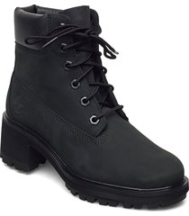 kinsley 6 inch waterproof boot shoes boots ankle boots ankle boot - heel svart timberland