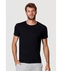 camiseta hering manga curta slim masculina - masculino