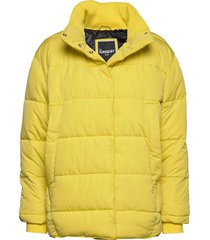 edit ume padded jacket gevoerd jack geel superdry