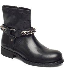boots 3570 shoes boots ankle boots ankle boots flat heel svart billi bi