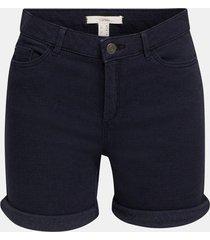 shorts elásticos azul marino esprit