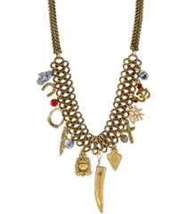 t.r.u. by 1928 lucky charms vintage-like chain necklace