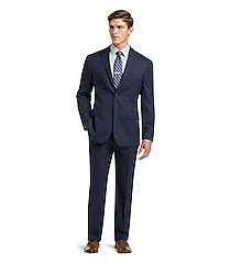 1905 collection tailored fit herringbone men's suit by jos. a. bank