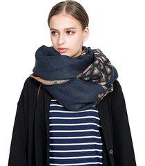 sciarpa calda di alta qualità del modello delle leopardo della sciarpa calda di inverno del scialle della stampa delle donne