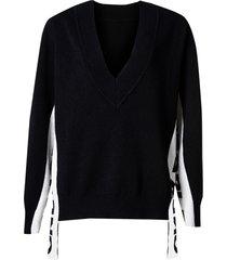 blusa rosa chá tricot zibo feminina (black, pp)