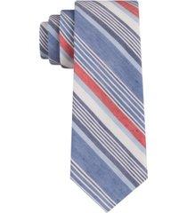 tommy hilfiger men's davis skinny stripe tie