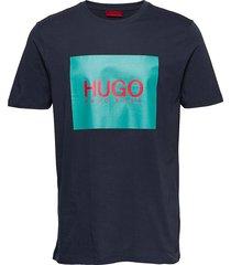 dolive201 t-shirts short-sleeved blå hugo