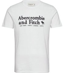 anf mens graphics t-shirts short-sleeved vit abercrombie & fitch