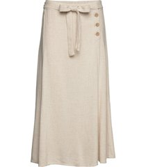 valentinacr skirt knälång kjol creme cream