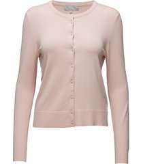 rita cardigan gebreide trui cardigan roze inwear