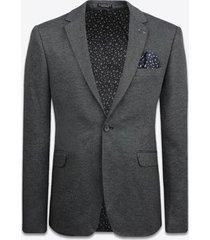 blazer gabbiano denim 2533 blazer black