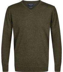 pullover v-neck army