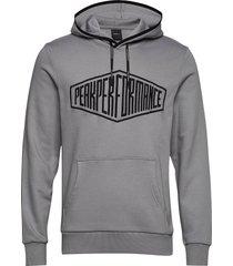 comfy hood hoodie trui grijs peak performance