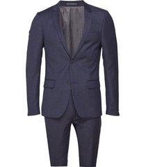 bs orlando, suit set kostym blå bruun & stengade
