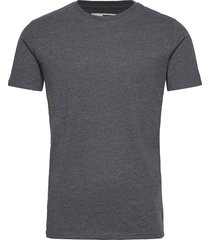 6194761, t-shirt - rock ss organic t-shirts short-sleeved grå solid