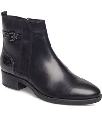 d felicity a shoes boots ankle boots ankle boots flat heel svart geox