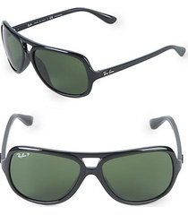 59mm polarized pilot sunglasses
