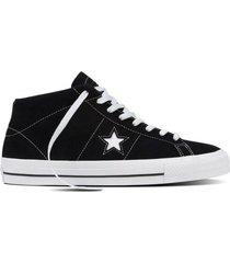 zapatilla negra converse on star pro
