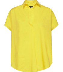 cele sleeveless rhodes shrit kortärmad skjorta gul french connection