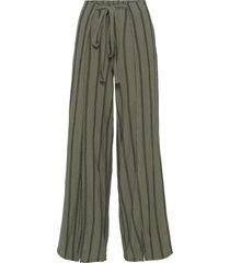 pantaloni in jersey con spacco (verde) - bodyflirt