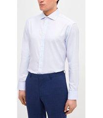 camisa formal microdiseño lila trial
