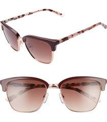 women's ted baker london 54mm gradient sunglasses -