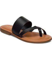 celodia shoes summer shoes flat sandals svart aldo