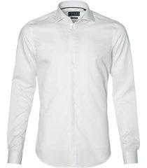 nils smoking overhemd - body fit - wit