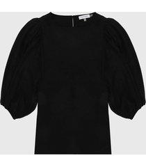 blusa negro calvin klein