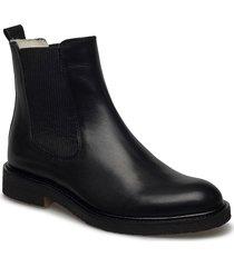 warm lining 97952 stövletter chelsea boot svart billi bi