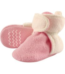 hudson baby toddler boys and girls cozy fleece booties